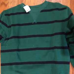 Brand new with tags boys green & navy sweatshirt 8